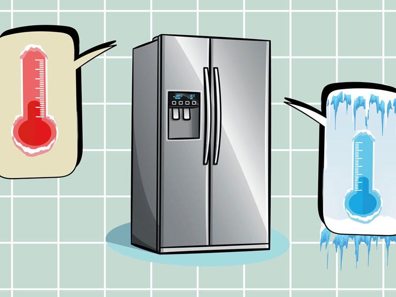 θερμοκρασια ψυγειου