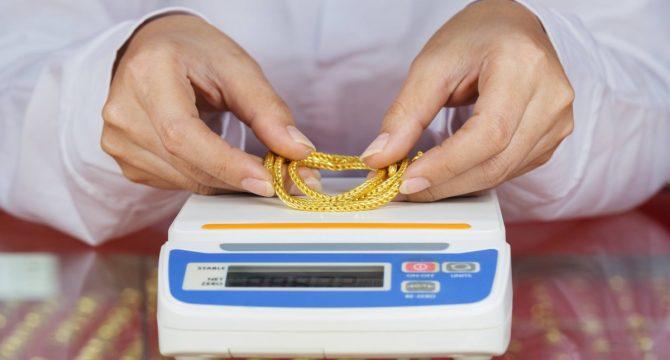 Ενεχυροδανειστηριο.gr - Ζυγισμα Χρυσού Κοσμήματος
